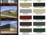 Mcelroy Metal Color Chart Mcelroy Metal Roofing Paradise Lumber Hardware St John