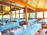 Mentone Al Cabin Rentals Main Dining Hall at Camp southwoods Big Space Bright Lighting