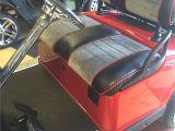 Mining Cart for Sale Custom Red Grey Black Golf Cart Upholstery Custom Golf Cart