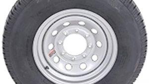 Mining Cart Wheels for Sale Amazon Com 16 Silver Mod Trailer Wheel 8 Lug with Radial St235