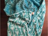 Minky Blanket for Adults Minky Adult Blanket Arrow Blanket Personalized Blanketadult