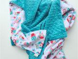 Minky Blanket for Adults Minky Adult Blanket Large Minky Blanket Owl Blanket Coral
