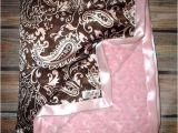 Minky Blanket for Adults Minky Blanket Adult Minky Baby Blanket Minky Blanket Brown