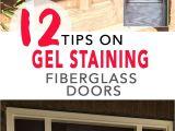 Minwax Gel Stain for Garage Door 12 Tips for Gel Staining Fiberglass Doors Preparation Supplies
