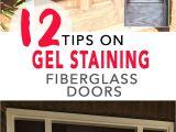 Minwax Gel Stain Garage Door 12 Tips for Gel Staining Fiberglass Doors Preparation Supplies