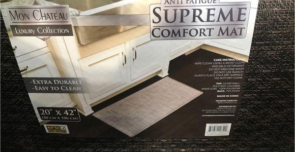 Mon Chateau Anti Fatigue Comfort Mat May 2017 Costco Weekender