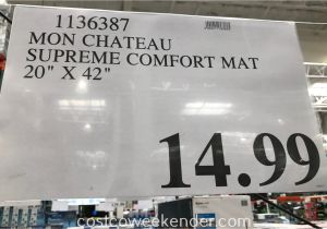Mon Chateau Anti Fatigue Mat Mon Chateau Anti Fatigue Supreme Comfort Mat Costco