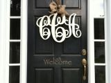 Monogram C for Front Door Best 25 Front Door Monogram Ideas On Pinterest Door