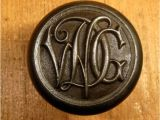 Monogram Front Door Knob Cast Iron Victorian Monogram Door Knob Metals Pinterest