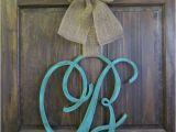 Monogram Initials for Front Door Front Door Decor Ideas Decozilla