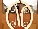 Monogram L for Front Door Metal Monogram Letters for Front Door Handballtunisie org
