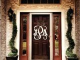 Monogram L for Front Door Mind Blowing Front Door Monogram Letters Front Doors