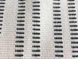 Mudcloth Cotton Fabric by the Yard 10 Yards Black Ivory Stripe Upholstery Fabric Mudcloth Fabric