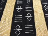 Mudcloth Cotton Fabric by the Yard Hand Crafted Bogolan Fabric Mali Mud Cloth African Cloth Etsy