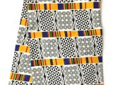 Mudcloth Cotton Fabric by the Yard Kente Fabric Products