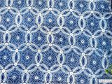 Mudcloth Cotton Fabric by the Yard Moroccan Design Indigo Fabric Mudcloth Block Print Fabric by Etsy