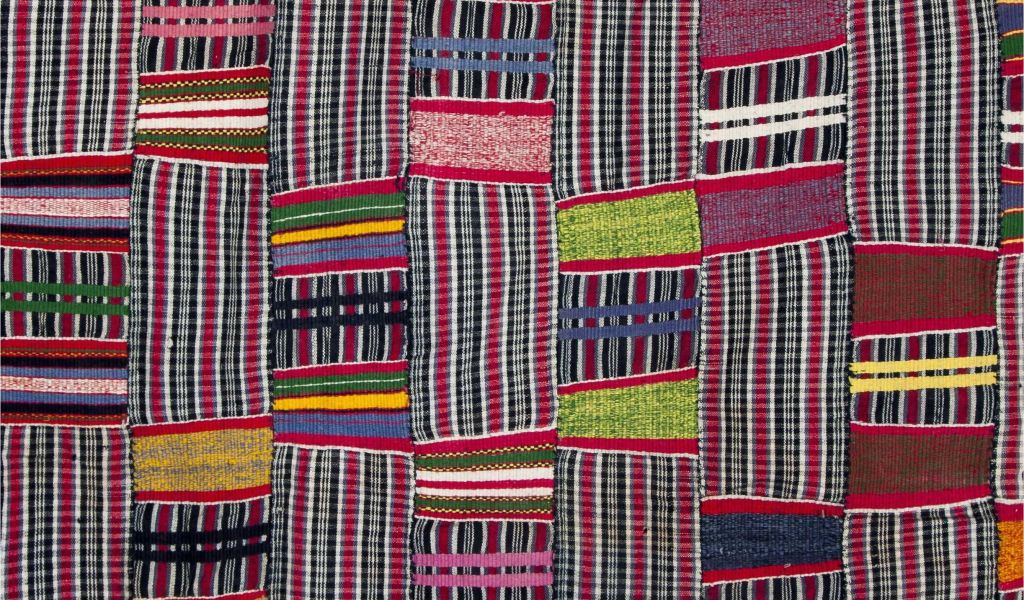 Mudcloth Fabric by the Yard Africa Details From A Strip
