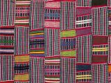 Mudcloth Fabric by the Yard Africa Details From A Strip Woven Cloth From the Ewe People Of