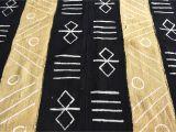 Mudcloth Fabric by the Yard Hand Crafted Bogolan Fabric Mali Mud Cloth African Cloth Etsy