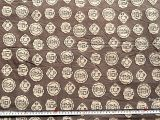 Mudcloth Print Fabric by the Yard Coins Quirky Print Fabric Block Print Fabric Mudcloth Jaipur Etsy