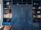 Murphy Bed Desk San Diego Denver Co Library with Custom Designed Book Shelf with Hidden Queen