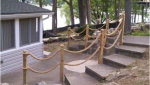 Nautical Rope Deck Railing Nautical Rope Railing Idea Deck Designs Pinterest