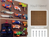 Nerf Gun Storage Ideas Nerf Storage Ideas A Girl and A Glue Gun