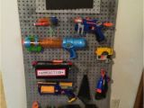 Nerf Gun Storage Rack Nerf Storage Ideas A Girl and A Glue Gun