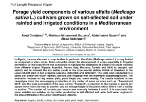 Northeast Plant World Nursery El Paso Pdf Yield Yield Components and forage Nutritive Value Of Alfalfa