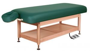 Oakworks Hydraulic Massage Table Oakworks Clinician Electric Hydraulic Flat top Massage Table