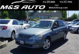 Offer Up Cars for Sale Sacramento Pre Owned 2004 toyota Avalon Xls 4dr Car In Sacramento A23016 M