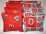 Ohio State Cornhole Bags Ohio State Cornhole Bean Bags 8 Tailgate toss by