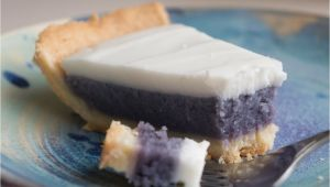 Okinawan Sweet Potato Pie Honolulu Hawaiian Okinawan Sweet Potato Pie with Haupia topping