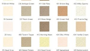 Omega Stucco Color Chart Stucco Color Charts Blue Collar Stucco