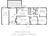 One Story House Plans with Connecting In Law Suite Basement Under Garage Plans Duplex Plan A 2 Storey Duplex House Plan