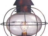 Onion Lamp Cape Cod Cape Cod Onion Copper Lantern Post Light Head for Sale