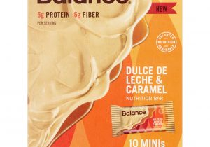 Orange Leaf Gift Card Balance Check Balance Dulce De Leche Caramel Nutrition Bar 0 70 Oz 10 Count