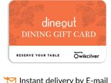 Orange Leaf Gift Card Balance Check Dineout E Gift Card for More Than 1700 Restaurants Rs 1000 Buy