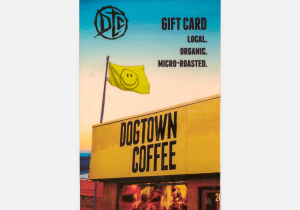 Orange Leaf Gift Card Balance Check Dtc Gift Card Dogtown Coffee