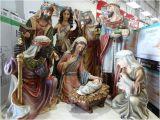 Outdoor Nativity Sets Costco 9 Piece Nativity Set