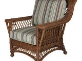 Outdoor Patio Furniture Des Moines Rockport Natural Wicker Chair with Magazine Glass Holder High Back