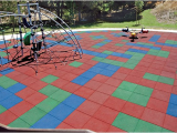 Outdoor Rubber Flooring for Playground Recreational Rubber Tiles Rubber Floors and More