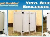 Outdoor Shower Enclosure Kits Vinyl Outdoor Shower Enclosures Godiet Club