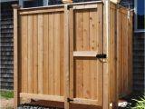 Outside Shower Enclosure Kits Outdoor Shower Kit Enclosures Cedar Wall Mount Showers