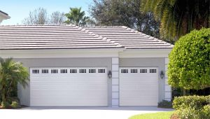 Overhead Door Company Lincoln Ne Amarr Short Panel Garage Door In True White with Prairie Windows
