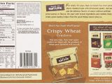 Pack and Ship Naples Fl 34109 Amazon Com Back to Nature Non Gmo Crackers Crispy Wheat 1 Ounce