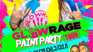 Paint Night Jacksonville Fl 09 08 18 Glowrage Paint Party Jacksonville Fl Mavericks Live