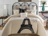Paris themed Bedding Bed Bath and Beyond 7 Pc Anthology Paris Full Queen Comforter Set Eiffel tower