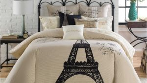 Paris themed Bedding Bed Bath and Beyond 7 Pc Anthology Paris Full Queen Comforter Set Eiffel tower