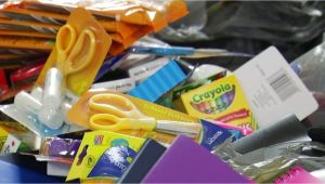Party Supplies In Roanoke Va Load the Bus Campaign Ready to Distribute School Supplies